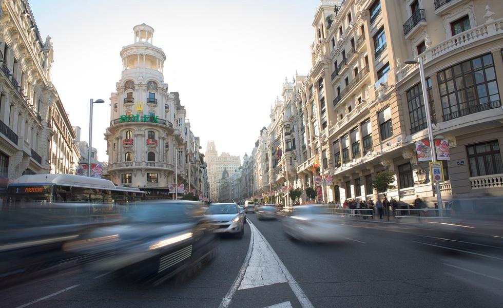 Imagen de la Gran Vía, Madrid