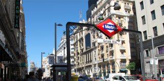 Metro Gran Vía Madrid