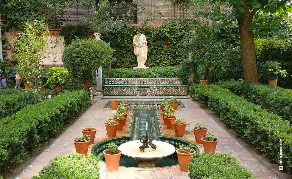 Jardín del Museo Sorolla, un refugio apacible dentro de la ciudad