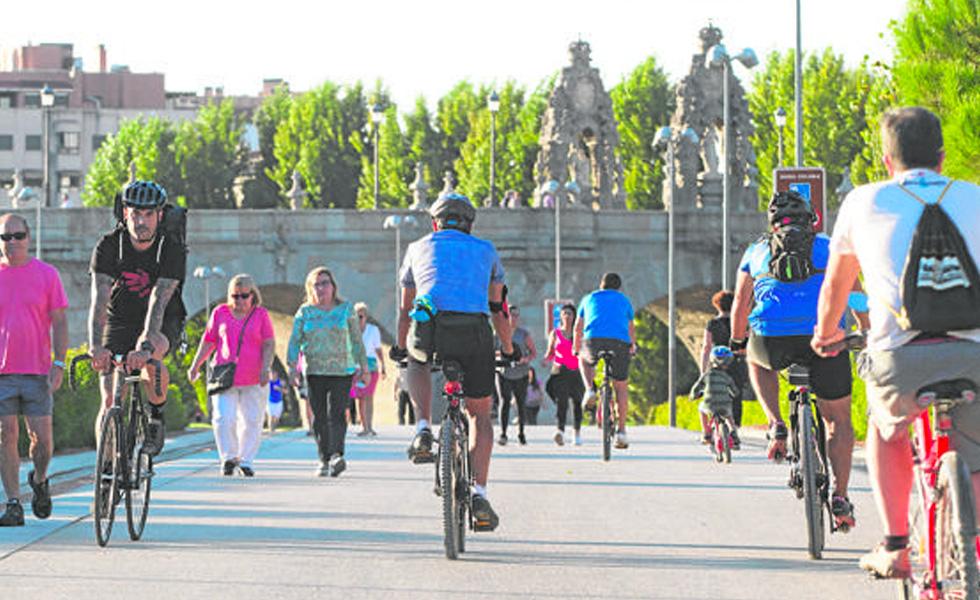 El ayuntamiento prohibirá la circulación de bicicletas en Madrid Río