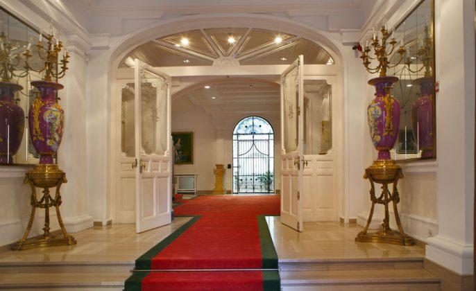 Zaguán de entrada al Museo del Romanticismo