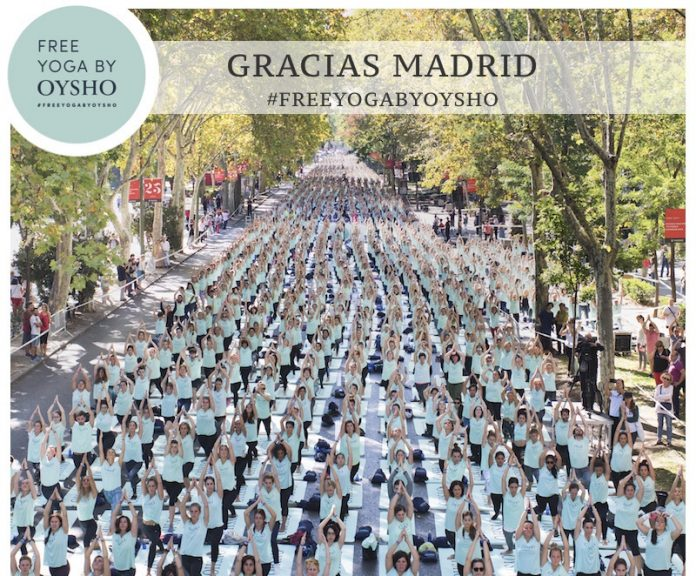 yoga oysho madrid