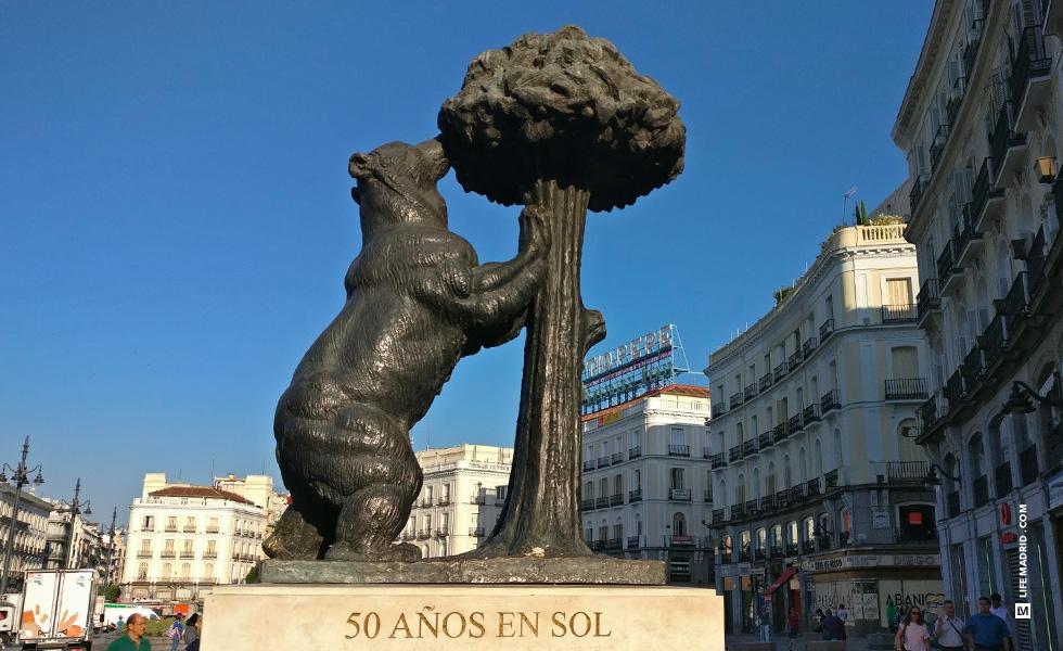 El Oso y el Madroño, Puerta del Sol