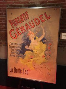 Cartel del producto Purgatif Géraudel