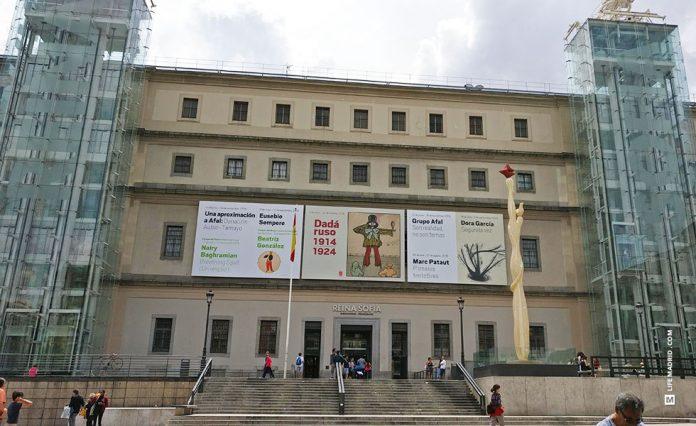 Museo Reina Sofia, Madrid