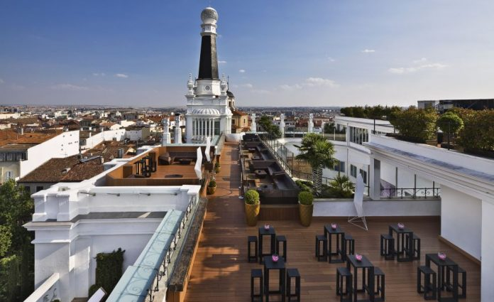 Terraza Me Madrid Rooftop
