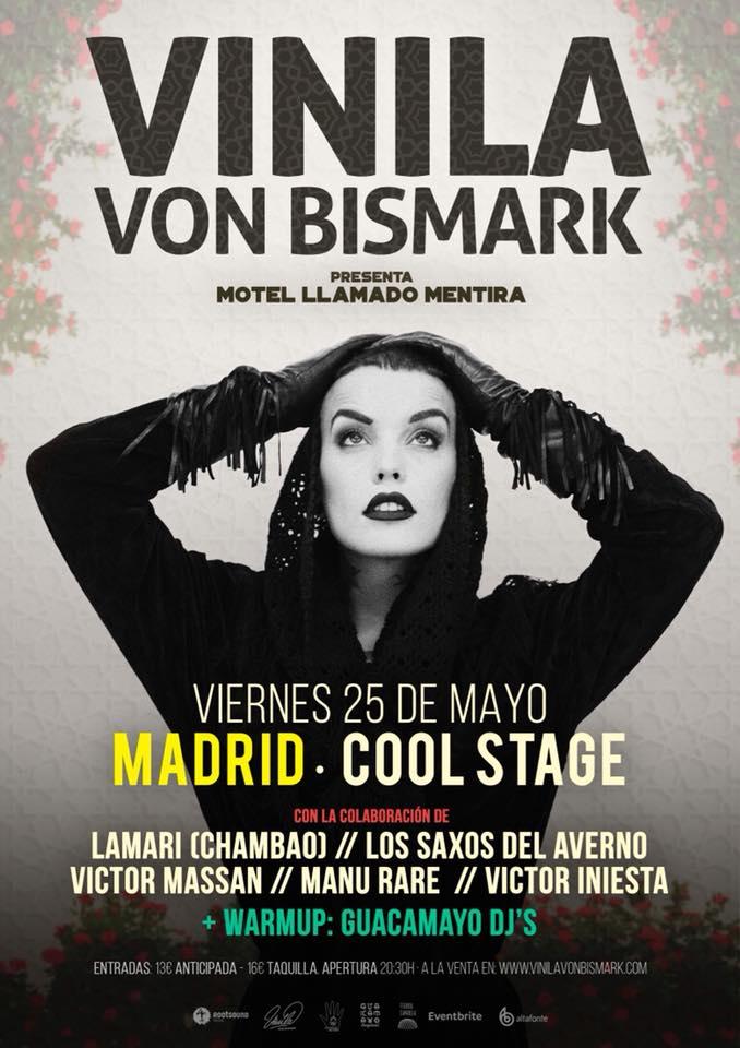 Vinila Von Bismark en Madrid