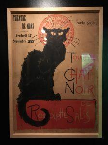 Cartel Le Chat Noir